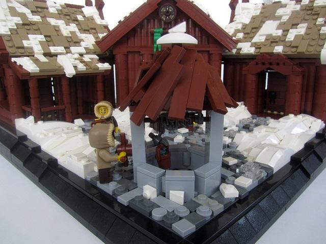 Brickbuilt Lego Moc Viking Village
