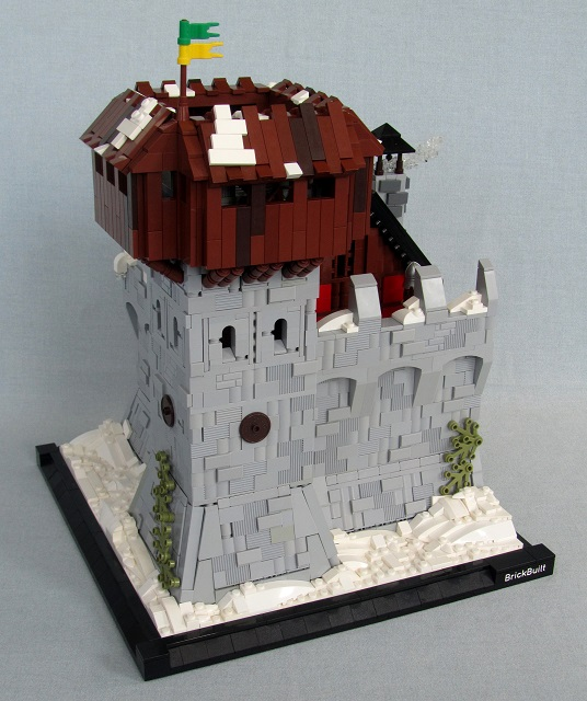 Brickbuilt Daydelon Tower Castle MOC