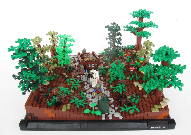 how to build a lego tree house