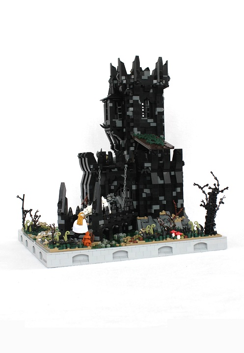 Lego Castle Moc , Tol-in-Gaurhoth, overview
