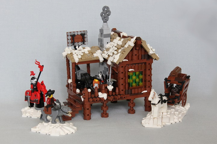 Lego Castle Moc , Smithy, overview