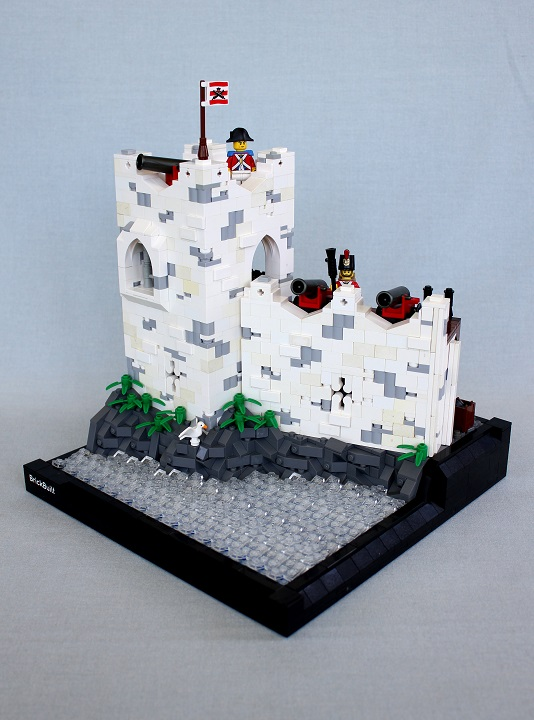 Imperial Fort by brickbuilt.org