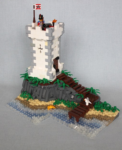 Imperial Outpost by brickbuilt.org